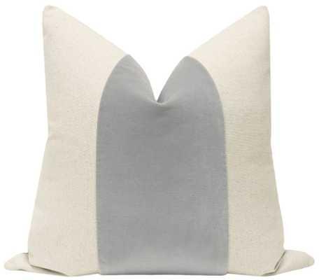 PANEL // :: Signature Velvet // Cloud 20'' x 20'' Pillow Cover - Little Design Company