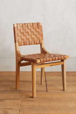 Leather Loom Dining Chair - Anthropologie