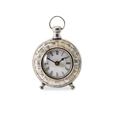 Levine Desk Clock - Mercer Collection