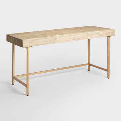 Driftwood Cristela Desk: Natural by World Market - World Market/Cost Plus
