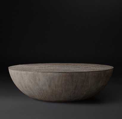 "Sphere Round Coffee Table 48"" - RH Modern"