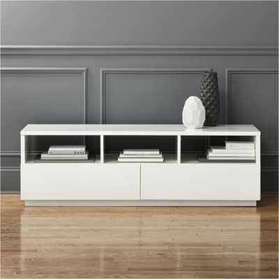 Chill White Media console - CB2