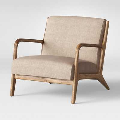 Esters Wood Arm Chair - Project 62™- Light Beige - Target