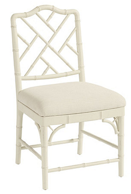Dayna Side Chairs - Set of 2 - Rubbed Cream - Ballard Designs