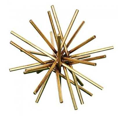 Urchin Iron Asterisk - Gold - Medium - High Fashion Home