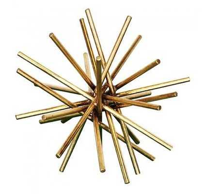Urchin Iron Asterisk - Gold - Medium - High Fashion Home