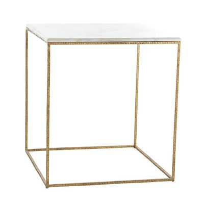 Gold Leaf Collection- Side Table - Wisteria