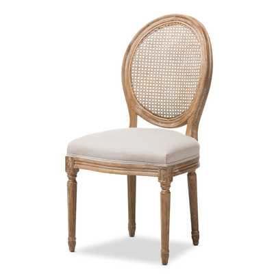 ADELIA DINING SIDE CHAIR - Lark Interiors