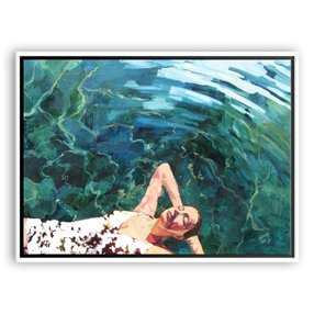 """T.S. Harris, Floating Girl 37""""L x 48""""W - One Kings Lane"""