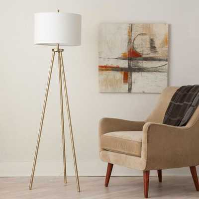Tripod Floor Lamp - Antique Brass - Project 62 - Target