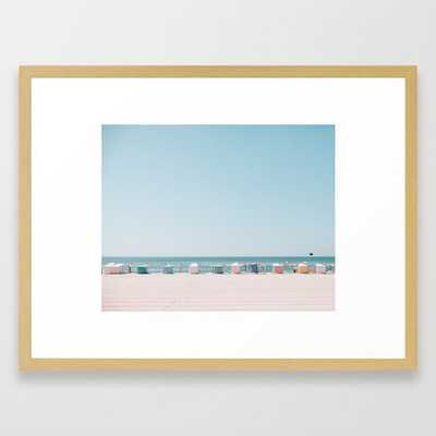 Beach Huts - Society6