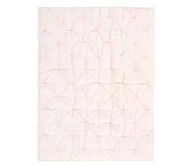 Audrey Toddler Quilt, Blush - Pottery Barn Kids