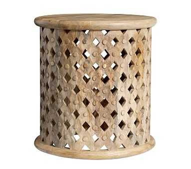 Stella Side Table, Washed Natural - Pottery Barn Kids