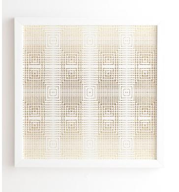 DECO GOLD - 20x20 - Wander Print Co.