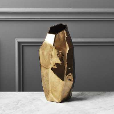 Ada Bronze Vase - CB2