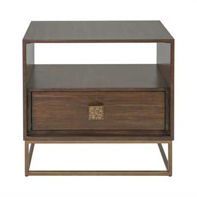 Bexley Walnut Side Table - Hudsonhill Foundry