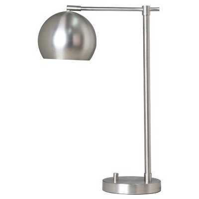 Modern Globe Desk Lamp Silver - Threshold™ - Target