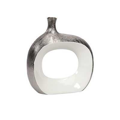Riley Small Metallic Vase - Mercer Collection