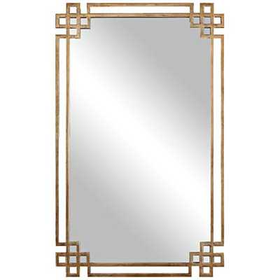 "Devoll Classical Gold 22"" x 36 3/4"" Rectangle Wall Mirror - Hudsonhill Foundry"