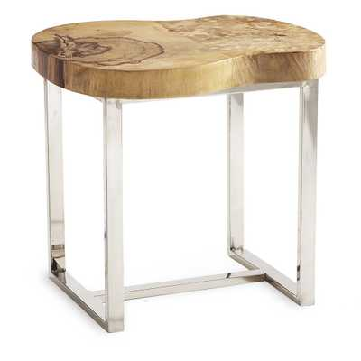 MODERN NATURE SIDE TABLE - Wisteria