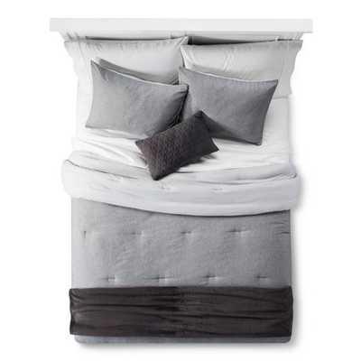 Gray Heather Comforter Set - Room Essentials, Twin Extra Long - Target