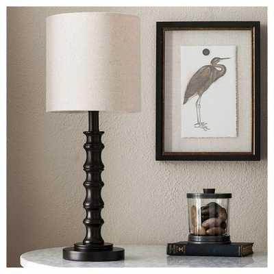 Shiloh Polyresin Table Lamp - Espresso - Target