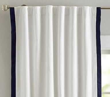 Newport Panel, 96 Inches, Navy - Pottery Barn Kids