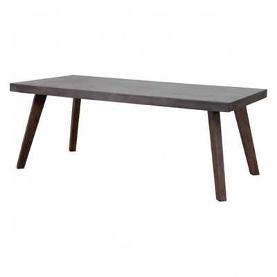 Son Dining Table Cement & Natural - Zuri Studios