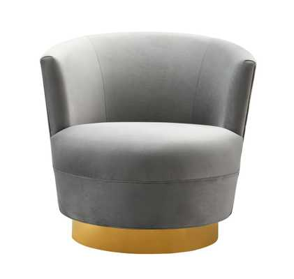 Raegan Morgan Swivel Chair - Maren Home