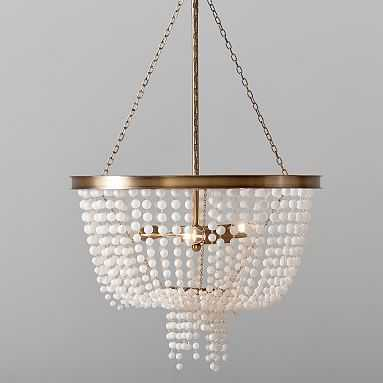 Glass Beaded Chandelier - Pottery Barn Teen