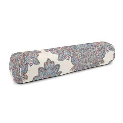 Bolster Pillow 9x36, Baroque - Grapefruit - Loom Decor