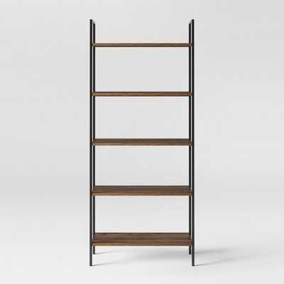 "72"" Loring 5 Shelf Ladder Bookcase - Project 62™ - Walnut - Target"