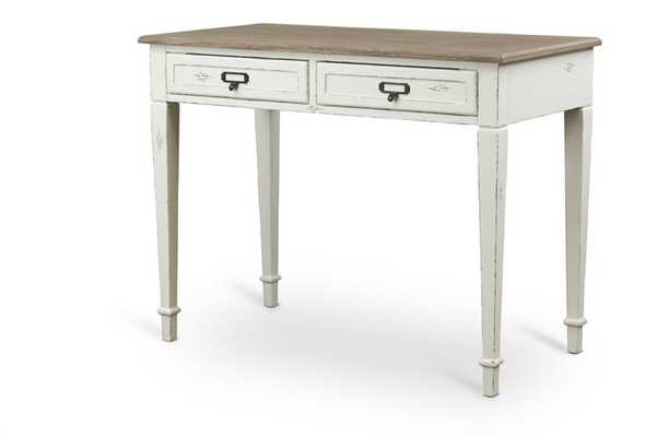 Baxton Studio Dauphine Traditional French  Accent Writing Desk - Lark Interiors
