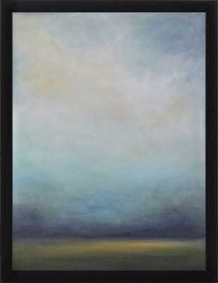 """Cool Mist, 16""""x20"""", Large Contemporary Black Frame, No Mat - Artfully Walls"""