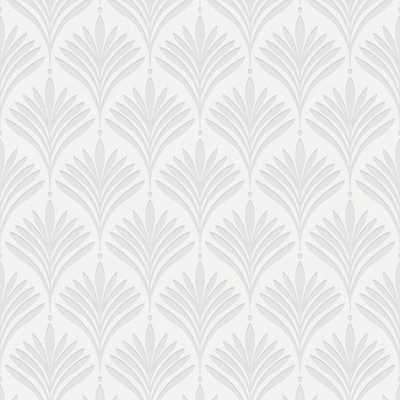 Bonnie Geo White Removable Wallpaper - Home Depot
