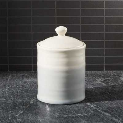 Grey Dip Small Kitchen Canister - Crate and Barrel