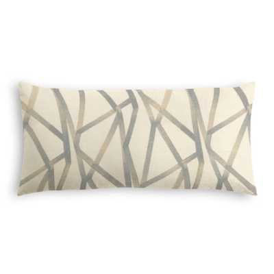 Lumbar Pillow  Lumbar Pillow  Tessellate Down Insert - Loom Decor