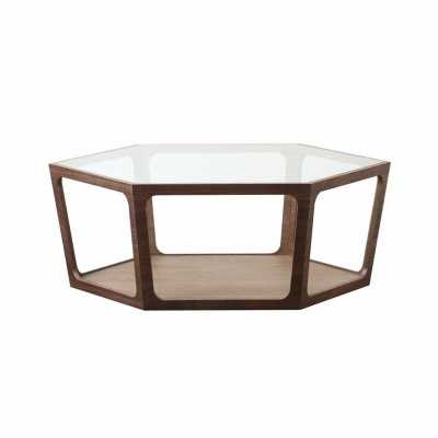 Verona Walnut Coffee Table - Abbyson Living