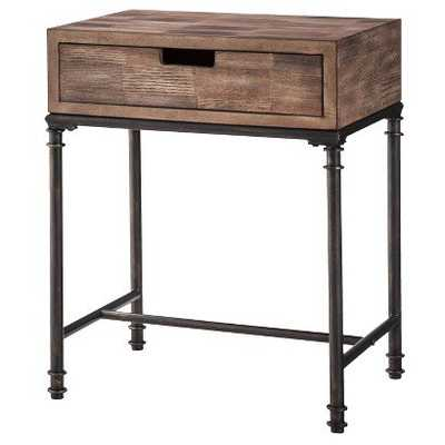 Mixed Material Side Table - Target
