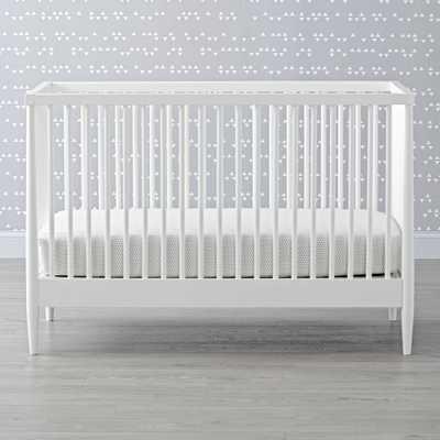 Hampshire White Crib - Crate and Barrel