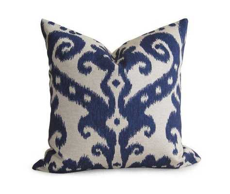 "Tangier Ikat Pillow Cover - 18"" x 18"" - Insert Not Included - Willa Skye"