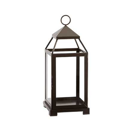 Malta Lantern - Bronze Finish, Medium - Pottery Barn