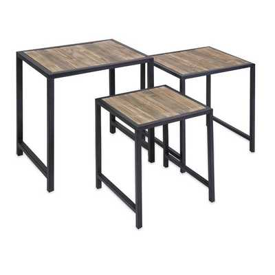 IK Groveport Nesting Tables - Set of 3 - Mercer Collection
