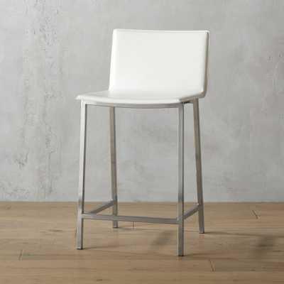 """phoenix ivory 24"""" counter stool"" - CB2"