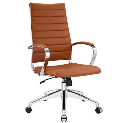 JIVE HIGHBACK OFFICE CHAIR IN TERRACOTTA - Modway Furniture