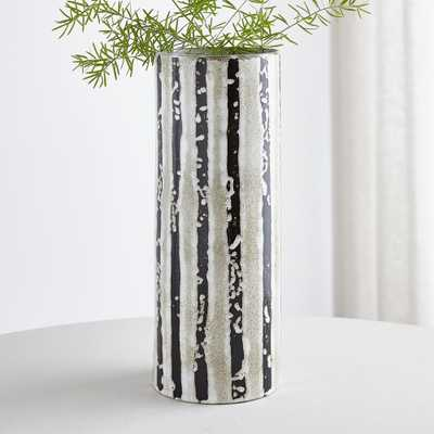 Alondra Striped Vase - Crate and Barrel