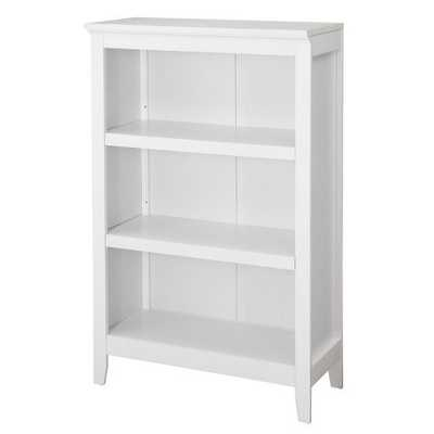 Carson 3 Shelf Bookcase - White - Target