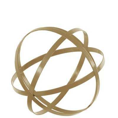Dyson 4 Circle Metal Orb Sculpture - AllModern