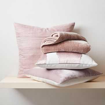 Luxe Blush Pillow Set - West Elm