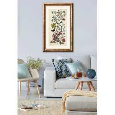'Chinoiserie Natura II' Framed Graphic Art Print - Wayfair